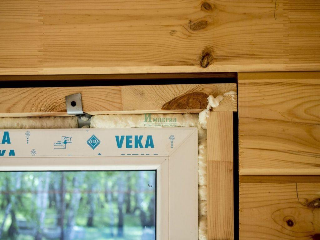 Замеры окон в деревянном доме